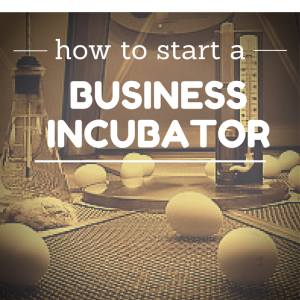 how to start a business incubator business