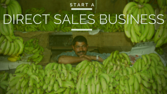 how to start a direct sales business